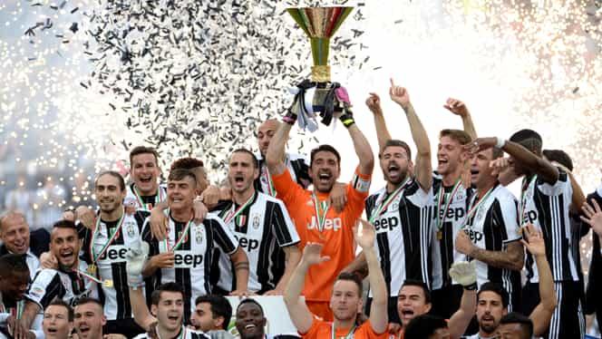 Juventus a rămăs fără un titlu de campioană! Azi s-a dat sentința definitivă în Italia!