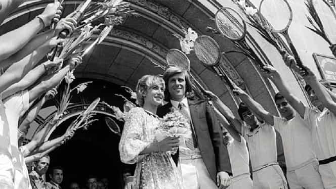 """Björn Borg, """"iceborgul"""" dezgheţat de Mariana Simionescu, a împlinit 64 de ani. Nunta secolului în… carul cu boi! Video de colecție"""