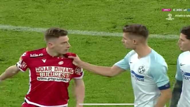 Vali Lazăr, ironii la adresa fanilor FCSB după golul din derby! Tănase l-a înjurat pe atacantul dinamovist. FOTO