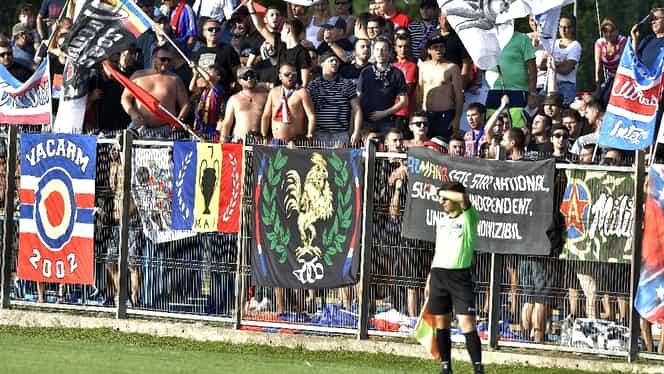 """Suporterii de la CSA Steaua au luat foc. Atac la adresa conducerii. """"O să spuneţi că exagerăm!"""""""