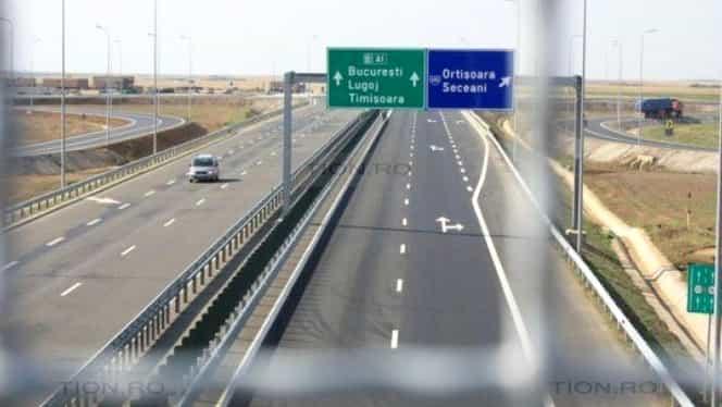 Trafic restricţionat pe Autostrada A1. Anunţul Poliţiei Române