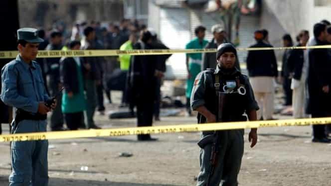 EXPLOZIE lîngă ambasada SUA din Afganistan. Două persoane au fost rănite