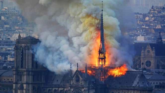 Donații de peste 300 de milioane de euro pentru Catedrala Notre-Dame din Paris. Cine sunt donatorii