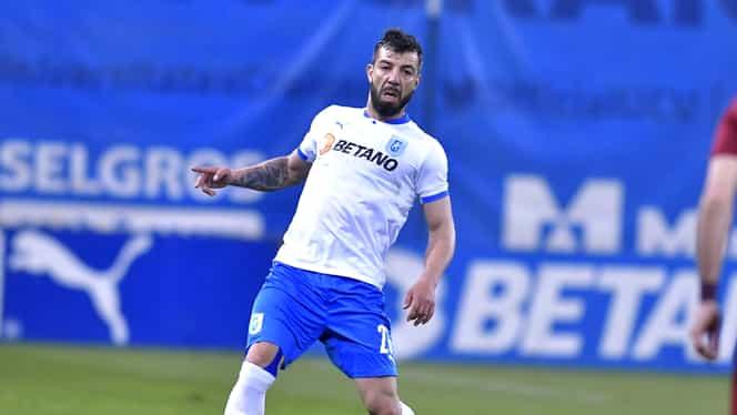 Marius Constantin a plecat direct la spital după U Craiova – CFR Cluj 0-0. Exclusiv