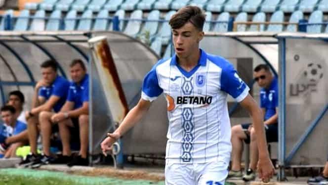 """Octavian Popescu, jucătorul """"furat"""" Craiovei, a debutat la FCSB! Fotbalistul, ghidonat spre echipa lui Becali chiar de Pițurcă și Giovani. Exclusiv"""