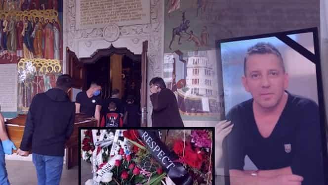 S-a întâmplat la înmormântarea lui Costin Mărculescu. Detaliul şoc pe care oamenii l-au observat la sicriul actorului