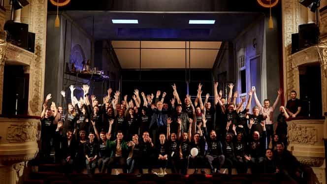 """Teatrul Odeon, teatru… în aer liber?! Cum explică directorul genaral Cristian Șofron această posibilitate """"coborâtă"""" din… acoperiș! Exclusiv"""