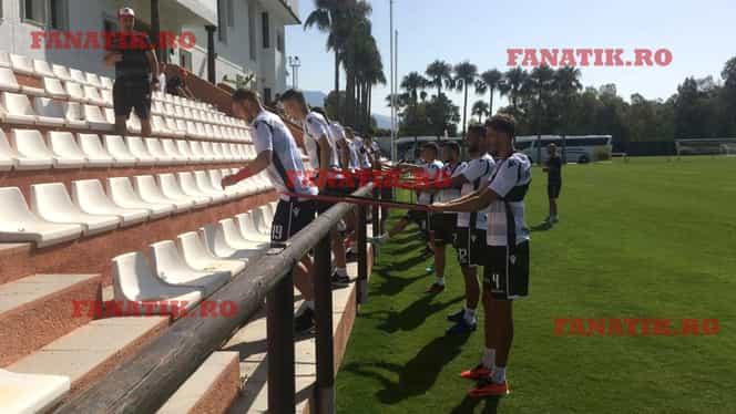 Imagini exclusive din cantonamentul lui Dinamo! Trei nume noi la antrenamentul de azi. VIDEO