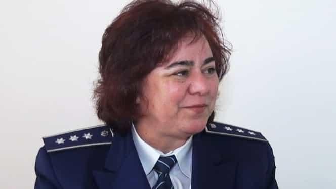 Soția fostului șef al Poliției Caracal iese și ea la pensie. Era comisar șef la secția din comuna Alexandrei Măceșanu