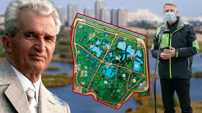 Ce voia să facă Nicolae Ceaușescu în Delta Văcărești, locul unde Klaus Iohannis a mers să sărbătorească Ziua Pământului