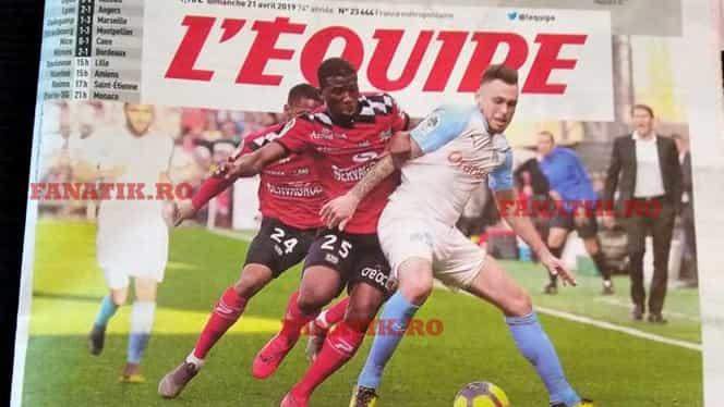 Dezinteres total! Franţa – România nu a prins prima pagină din L'Equipe! Revista presei franceze despre semifinala Fed Cup! Foto