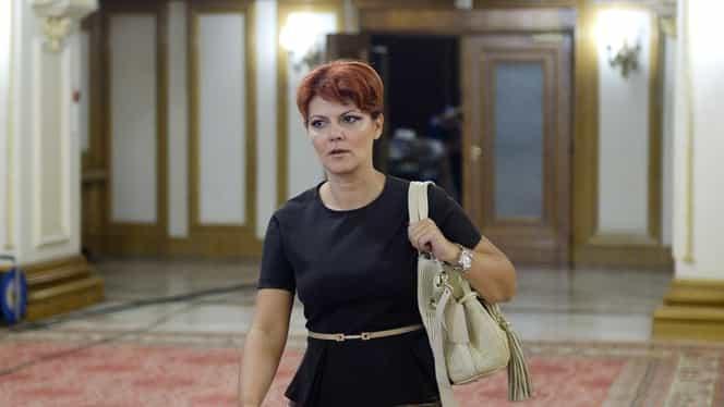 Lia Olguța Vasilescu își pierde funcția de purtător de cuvânt al PSD! Alte nume grele din partid vor fi mazilite