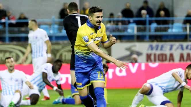 Vlad Morar a marcat un gol pentru Panetolikos în campionatul Greciei! Video cu reușita mijlocașului