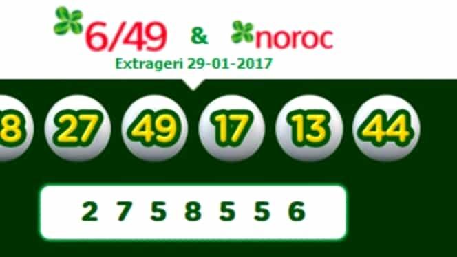 Loto 6/49 din 29 ianuarie. Numerele câştigătoare la Loto 6/49, Joker şi Loto 5/40