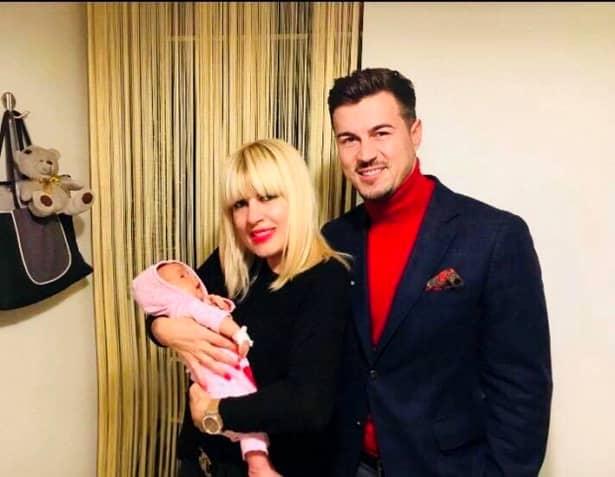 Elena Udrea și Adrian Alexandrov, botez pe 20 septembrie! Udrea, Alexandrov și copilul