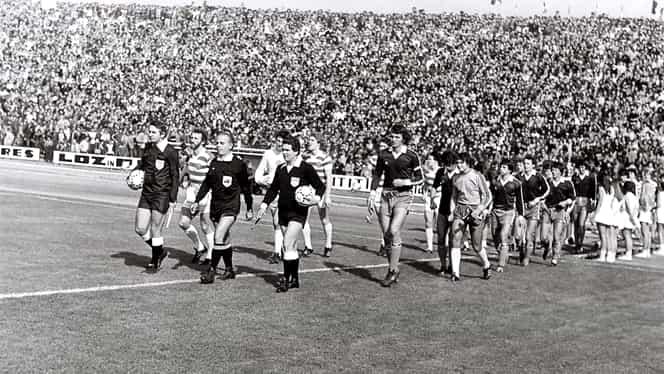 Model pentru CFR Cluj! Poli Timişoara, singura echipă din România care a eliminat-o pe Celtic! Imagini rare de la dubla din 1980! Video
