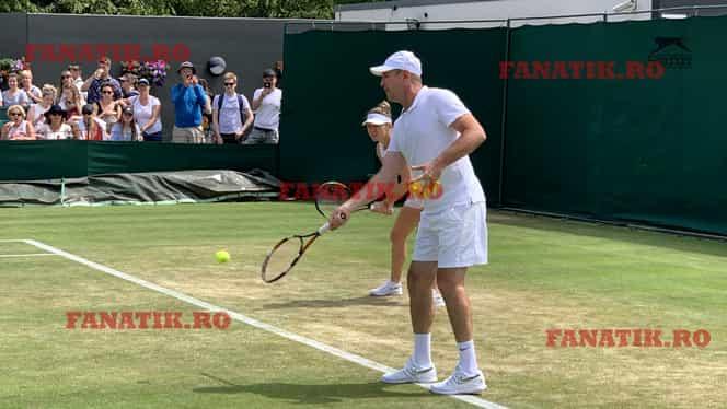 """Nebunia Wimbledon! Daniel Dobre NU a putut să o """"spioneze"""" pe Serena Williams în semifinale! Ce s-a întâmplat. EXCLUSIV"""