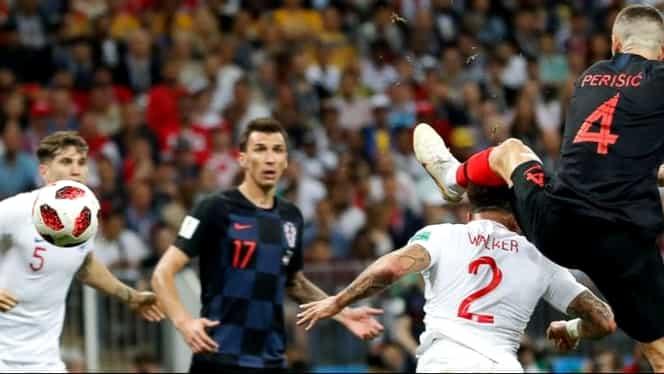 Ivan Perisic, omul meciului Croaţia – Anglia 2-1 la CM 2018