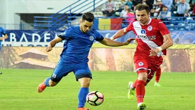 Gaz Metan Mediaş – Poli Iaşi 1-1 VIDEO în Liga 1 Betano. A înscris Ionut Larie, a fost eliminat Darius Dumitru Olaru
