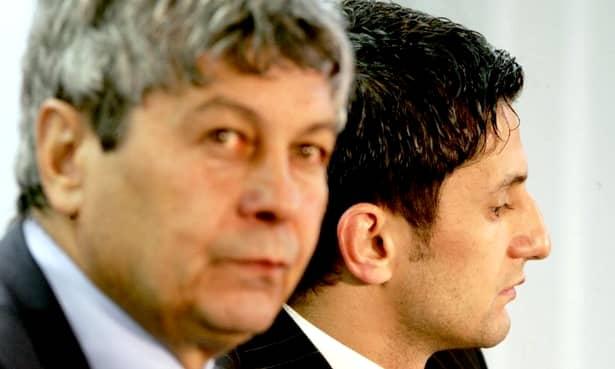 """Mircea Lucescu stă cu mândrie alături de cea mai mare """"victorie"""" a sa, Răzvan Lucescu. Sentimentul de iubire și respect este reciproc"""