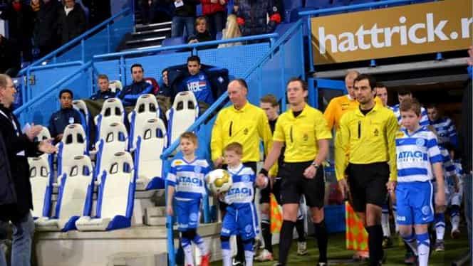 Povestea INCREDIBILĂ a arbitrului care a plecat cu SCANDAL din cauza lui Crăciunescu! Acum debutează în Eredivisie!