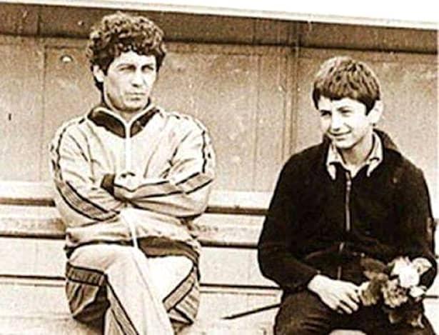 Mircea și Răzvan Lucescu, uniți de pasiunea pentru fotbal și iubirea tată-fiu