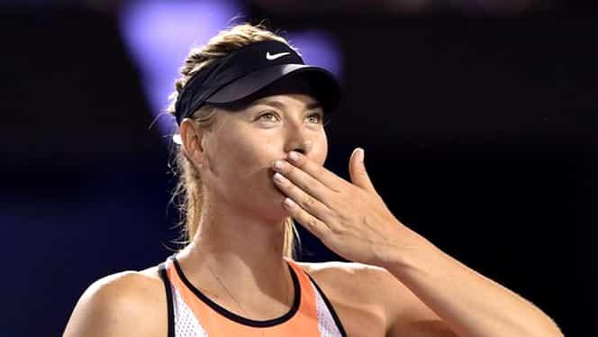 """Super veste pentru Maria Şarapova: """"Ar putea să revină mult mai repede!"""""""