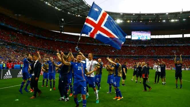 """Islanda vs România, insularii au descoperit abia după anul 2000 că """"mingea e rotundă"""""""