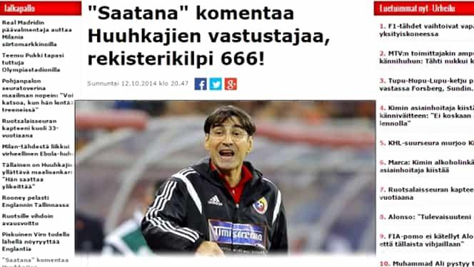 """FINLANDA – ROM NIA. """"E Satana, cu numărul 666!"""""""