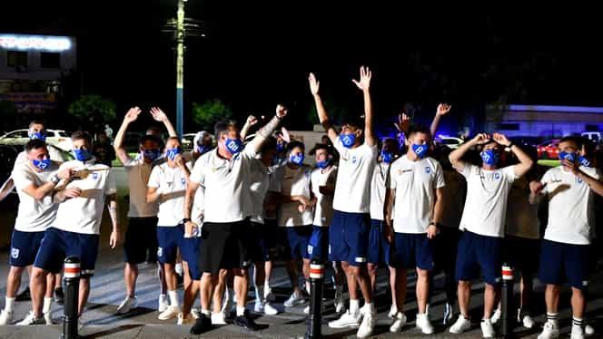 """U Craiova a sărbătorit pe manele victoria cu FCSB: """"Ăştia sunt băieţii mei şi au inimă de lei!"""" Exclusiv"""