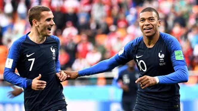 Gol Mbappe în Franța-Croația. Video. Mbappe cel mai tânăr marcator în finala CM de la Pele