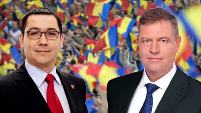 VIDEO / Cum CÎNTĂ Ponta şi Iohannis IMNUL României!