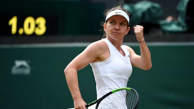 Simona Halep – Shuai Zhang 7-6, 6-1 în sferturi Wimbledon. Made in Romania! Calificare ISTORICĂ în semifinale! ACUM îşi află viitoarea adversară, prima reacţie şi lovitura financiară pe care a reuşit-o până acum