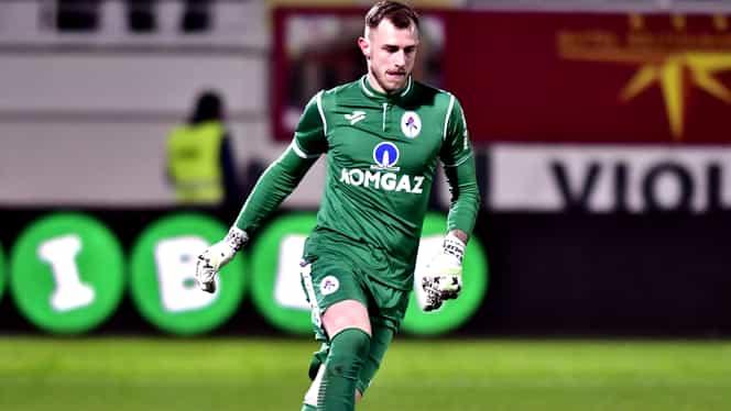Alexandru Greab, propus la FCSB pentru sezonul următor! Portarul e fan al roș-albaștrilor. Exclusiv