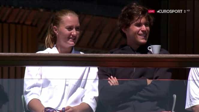 """Cuplul finalului de an în tenis! Thiem si Kristina Mladenovic """"joacă"""" la dublu!"""
