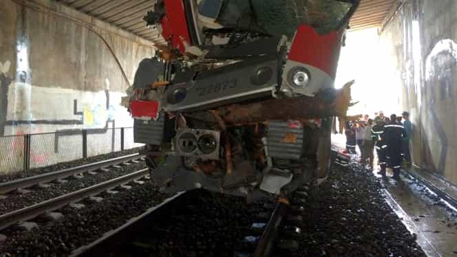 Accident feroviar în Franţa. 60 de persoane au fost rănite