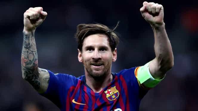 Lionel Messi, cel mai bun jucător din lume în ultimii 25 de ani. Englezii au stabilit fotbaliştii care intră în top 10