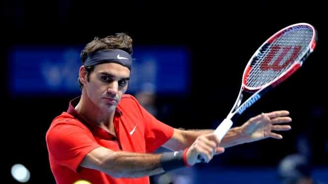 TURNEUL CAMPIONILOR. Federer, victorie în primul meci! Unul dintre favoriţi, EXECUTAT în două seturi!