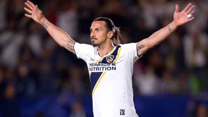 """Interviu de excepţie cu Zlatan Ibrahimovic: """"Dacă veneam în SUA acum zece ani, eram preşedintele ţării!"""""""