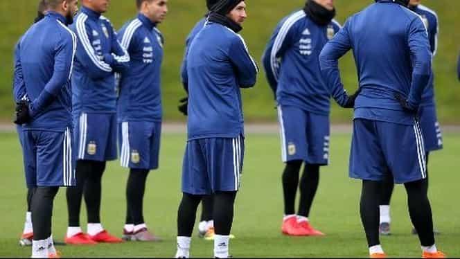 Messi şi colegii de la naţională, vizaţi de un control antidoping