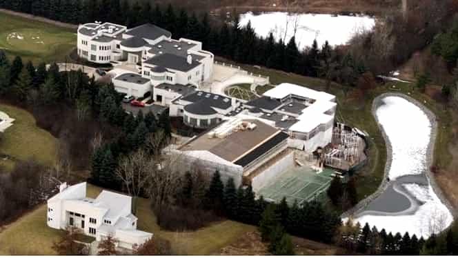 Cum arată vila luxoasă a lui Michael Jordan! Este evaluată la 15 milioane de dolari, dar de opt ani nu reuşeşte să o vândă! Foto