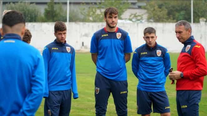 Naționala U19 a României, focar de COVID-19! Doi jucători au fost depistați pozitiv, amicalul cu Dinamo a fost anulat. FRF confirmă Fanatik. Exclusiv