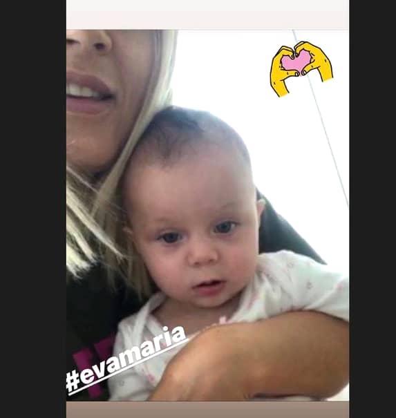 O noua poza cu fiica Elenei Udrea