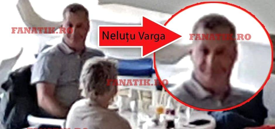"""Primele poze cu """"omul fără chip"""", Neluțu Varga, patronul CFR Cluj! Vizită surpriză la hotelul naționalei. EXCLUSIV"""