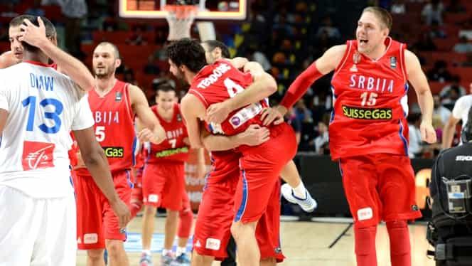 S-au stabilit sfeturile de finală la Europeanul de baschet! Serbia face SPECTACOL