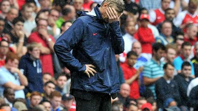 LOVITURĂ pentru Wenger! S-a rupt creierul echipei!