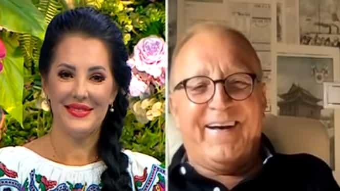 Angela Rusu și tatăl ei, pentru prima oară la tv. Soția părintelui artistei este mai mică decât ea cu 14 ani. Cum se înțeleg cele două – Video