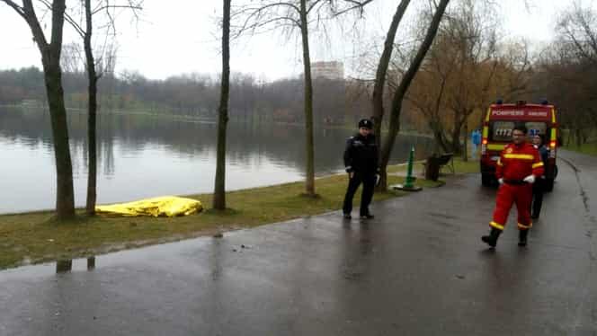 Bărbat găsit mort în lacul din parcul IOR din Capitală. Dosar penal pentru moarte suspectă