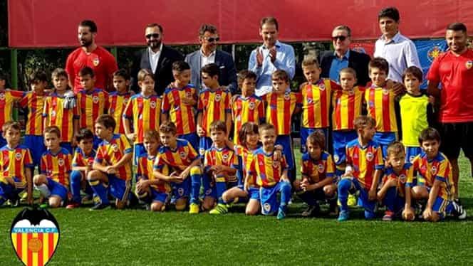 """Valencia şi-a deschis şcoală de fotbal la Bucureşti! Unde se antrenează micuţii """"lilieci"""""""