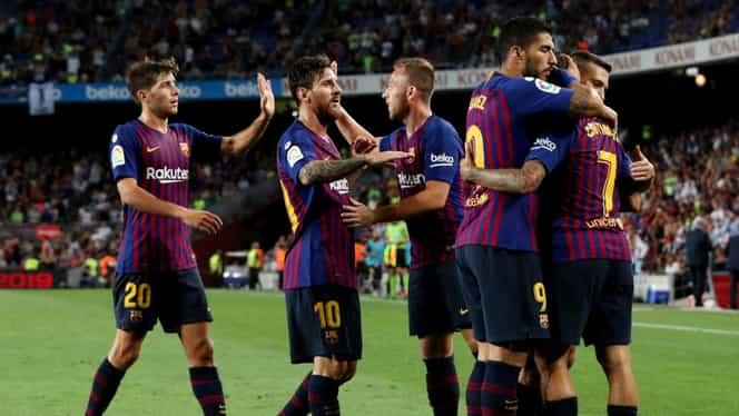 Câţi bani poate cheltui FC Barcelona pe salarii! Catalnii şi Real Madrid plătesc 1,1 miliarde de euro în total